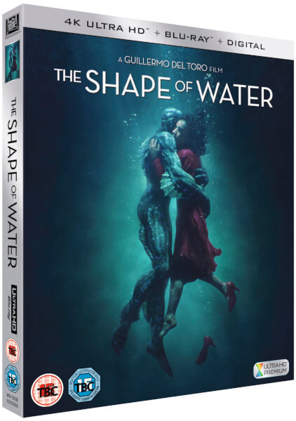 The Shape Of Water 4K Ultra HD Includes Blu Ray Amp DVD