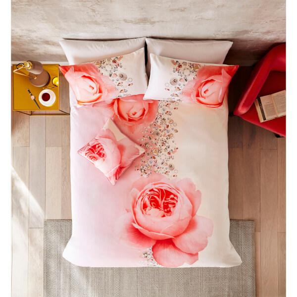 Floral Ted Baker Blenheim Jewels Duvet Cover - Pink