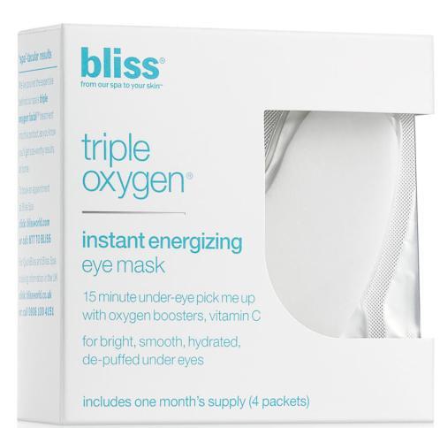 bliss Triple Oxygen Instant Energizing Eye Mask