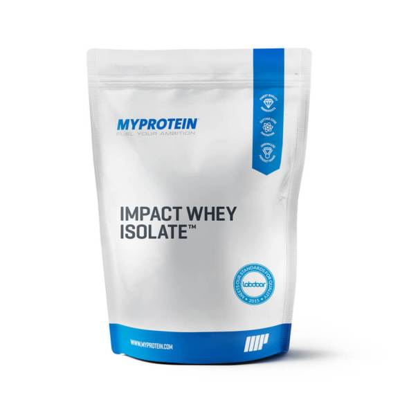 Impact Whey Isolate - 1kg - Chocolate Blanco