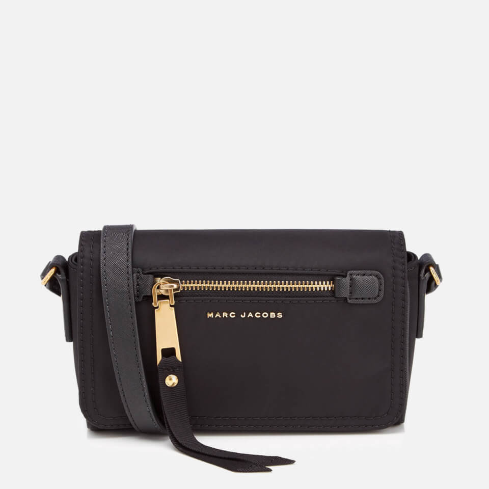 Marc Jacobs Womens Trooper Cross Body Bag Black