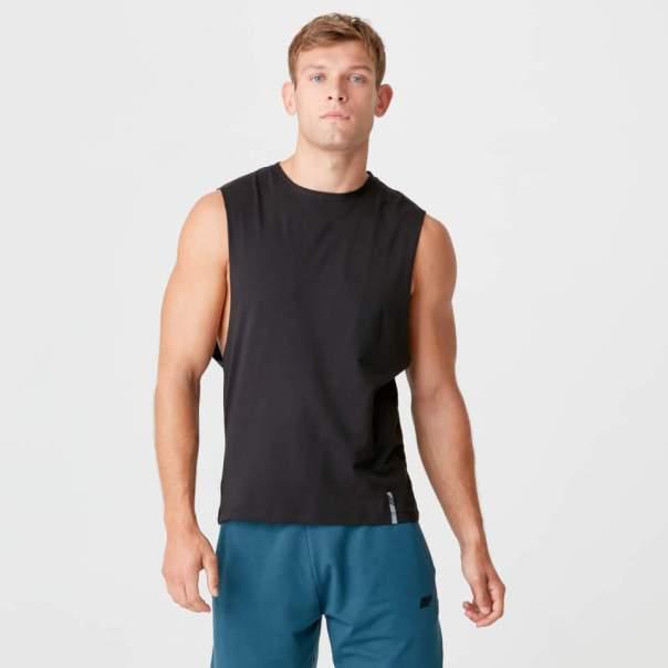 Camiseta de tirantes clásica Luxe - XXL - Negro