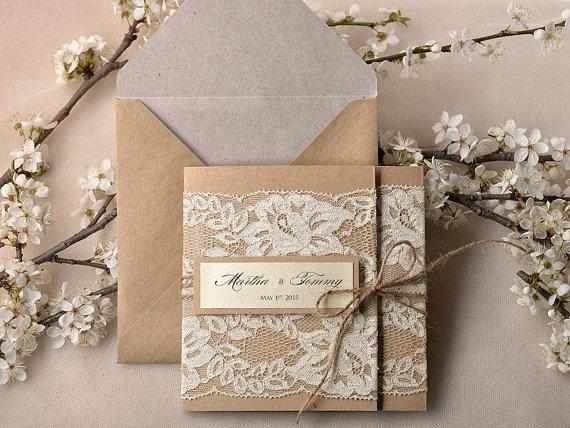 Royal Pocket Hard Cover Wedding Invitations Custom Laser Cut Invitation Card