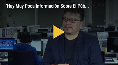 © vídeo Bryan Albornoz. Entrevista a Javier Ibacache en el diario El Comercio