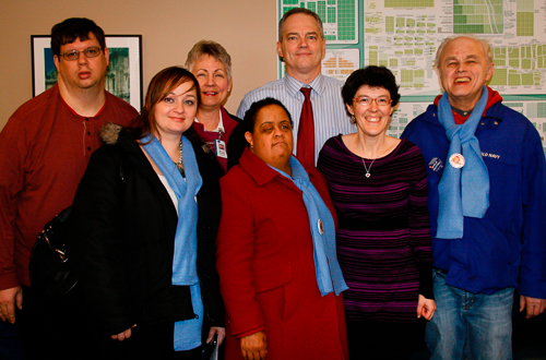 Constituents who have jobs through our supported employment program
