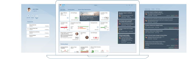 Fiori 2.0 Launchpad Viewport
