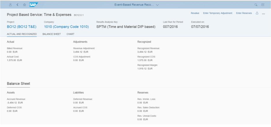 Event Based Revenue Recognition App Details
