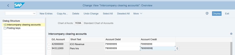 7. Intercompany Clearing Accounts