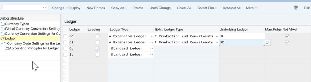 2. Ledger Configuration