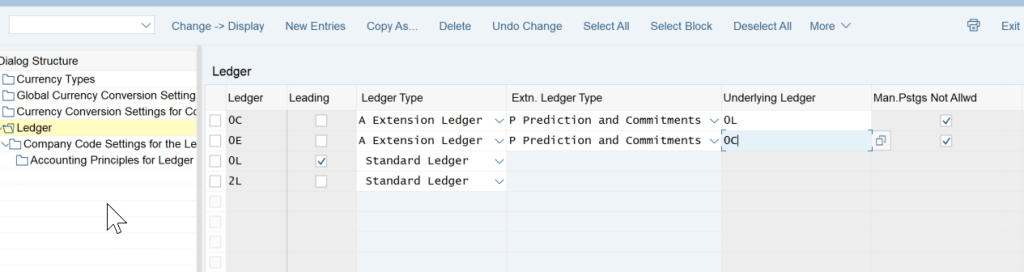 2. Ledger Configuration