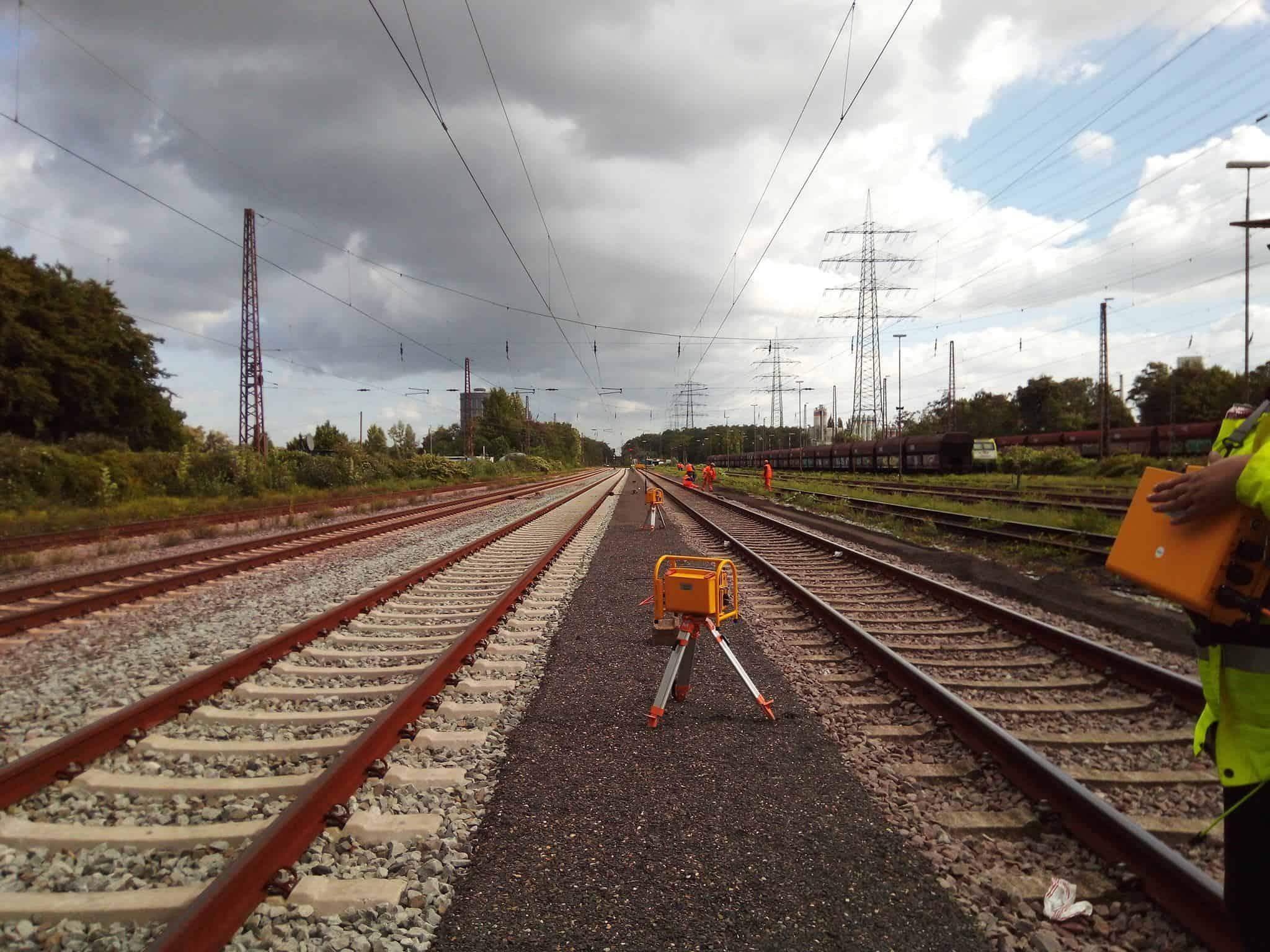 Gleisbausicherung | ATWS Automatisches Warnsystem