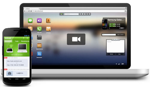 AirDroid 2 for file transfers and controlling your phone wirelessly!