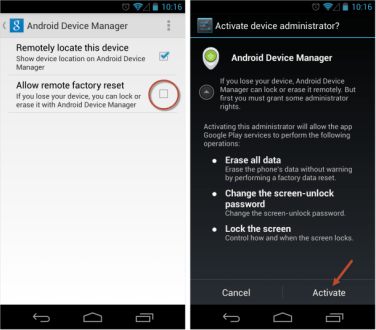 How to find your Lost mobile using Android Device Manager