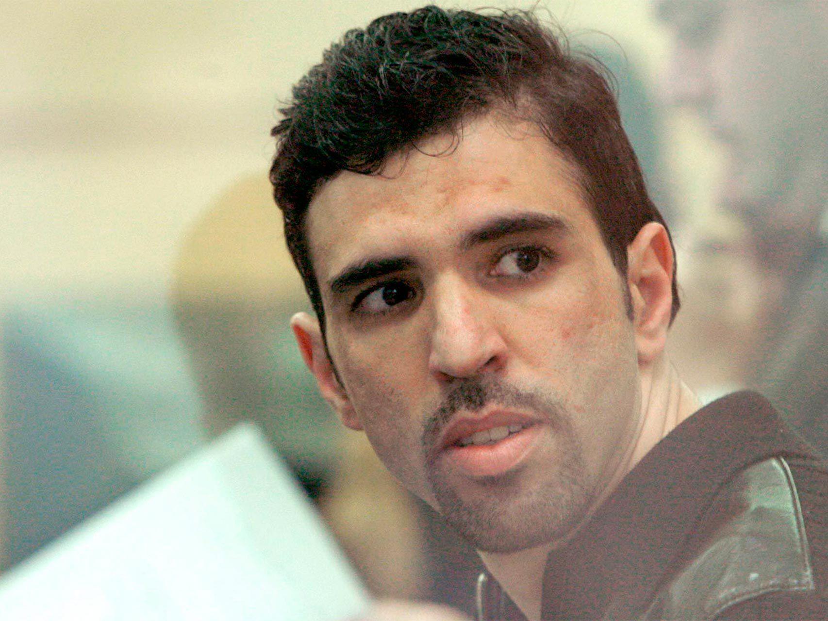 Jamal Zougam, en una imagen captada durante el juicio.