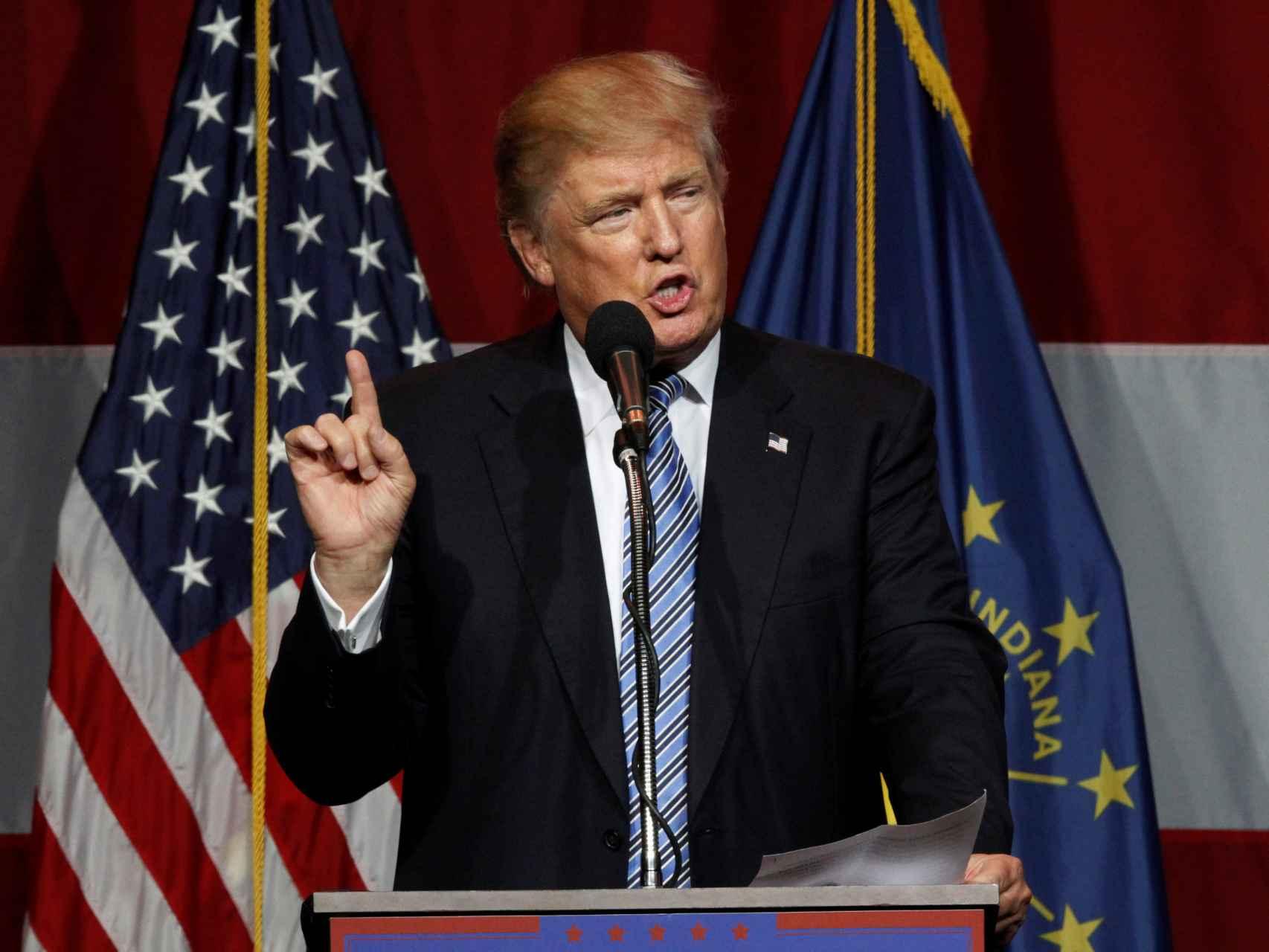 Trump adelanta a Clinton en  Florida y Pensilvania