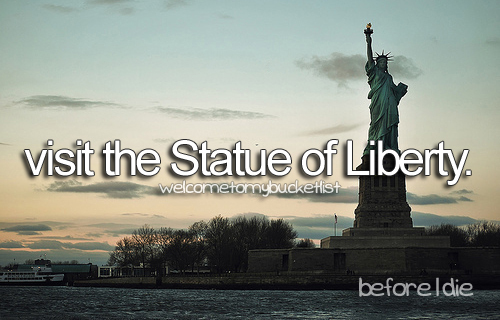 america, before i die, bucket list, eeuu