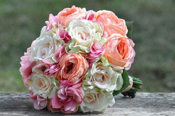 Wedding Bouquet, Keepsake Bouquet, Bridal Bouquet, Made