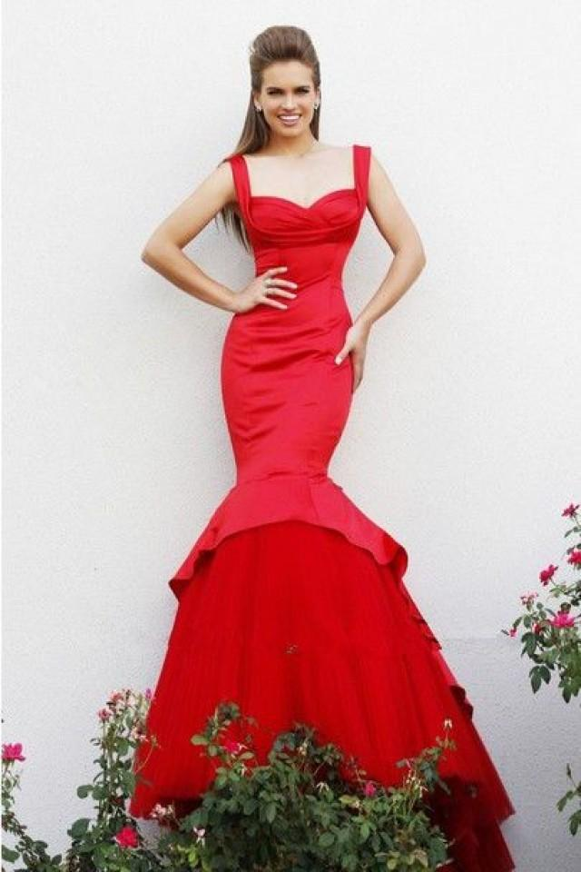 Sexy Mermaid Evening Formal Dress Long Party Prom Gown