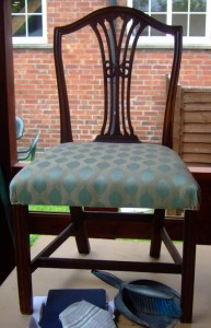 Upholstery at The Potters Barn
