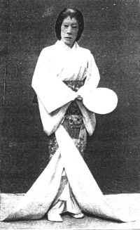 Mr. Ichikawa Danjuro as the Lady-in-Waiting of Kasuga