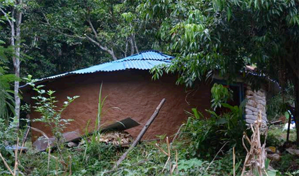 73 earthbag houses have built so far in Nepal by Ithaka Institute