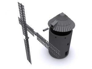 Molinos de viento Ferro3D escala N