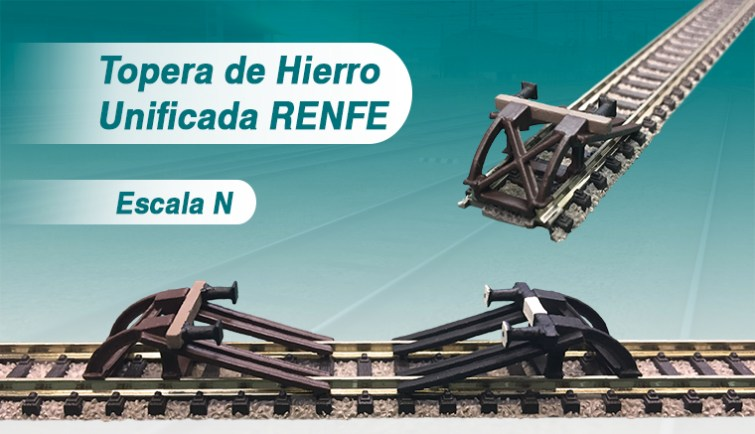 Topera Unificada hierro Renfe Ferro3D