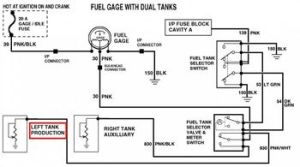 Which gas tank is main tank?  The 1947  Present