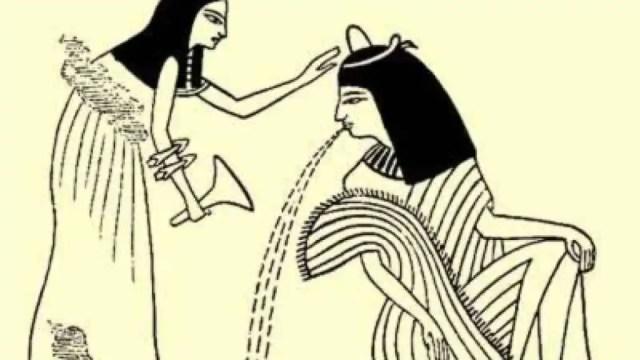Detalle de la tumba de Neferhotep.