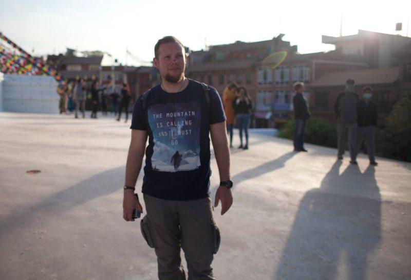 Катманду, столица Непала, ступа Боднатх