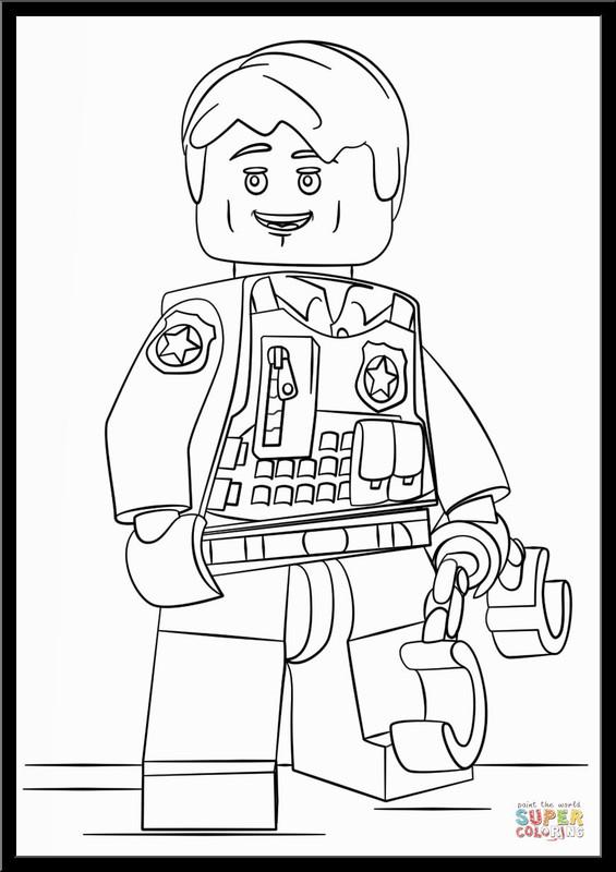 Disegni Da Colorare Omini Lego Coloratutto Website