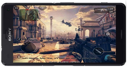 Modern Combat 5 eSports FPS 3.3.1b Apk + MODApk + Data [Game for Android] - TFPDL