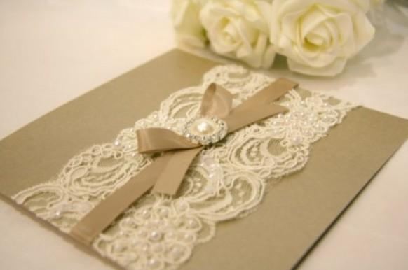 Handmade Wedding Invitations Will Give You Ideas How To Make Prepossessing Invitation 16