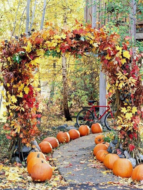 Autumn Decorations Weddings