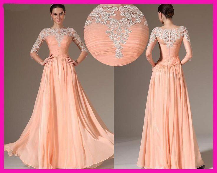 Düğün Davetlilerinin Parti Uzun Gece Elbisesi Transparan