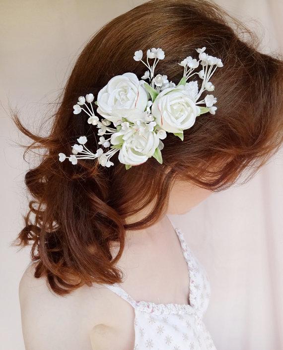 Bridal Hair Accessory Pearl Wedding Hairpiece 2226871