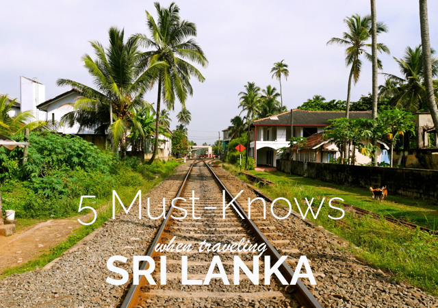 SriLanka5MustKnows