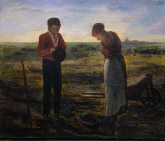 Angelus (Prayer for the Potato Crop) (after Millet)