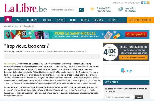 Trop vieux, trop cher - La Libre.be