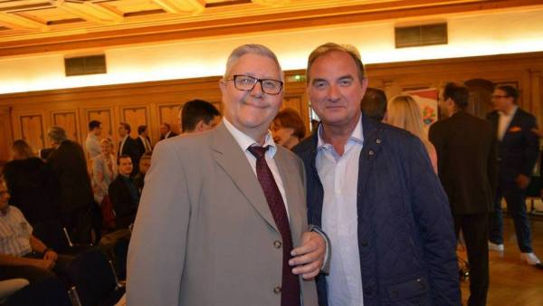 Bernard Fischer et Daniel Retler 28.05.15