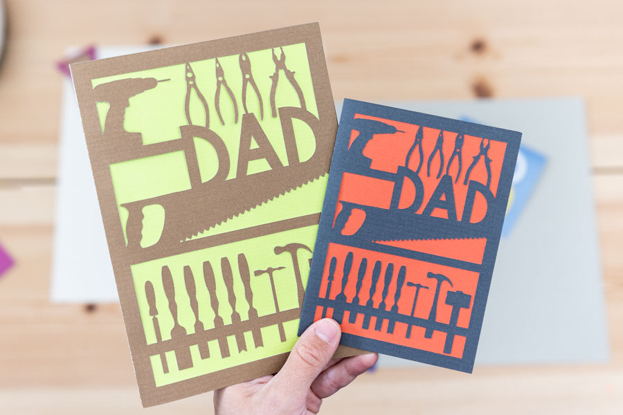 All of our downloads include an image, silhouette file, and.svg file. Diy Father S Day Cards With Cricut Free Svg Templates Daydream Into Reality