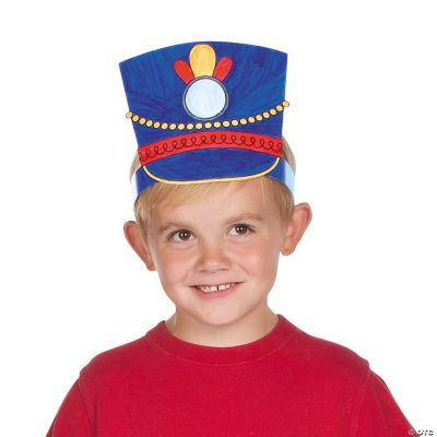 Color Your Own Toy Soldier Hats Coloring Crafts Crafts