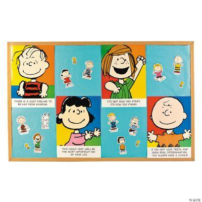 Peanuts Motivational Bulletin Board Set Discontinued