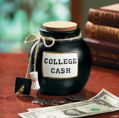 College Cash Fund Jar Oriental Trading