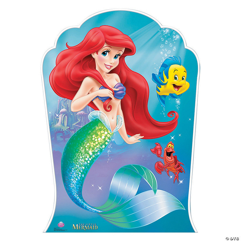 Disneys The Little Mermaid Ariel Amp Friends Stand Up