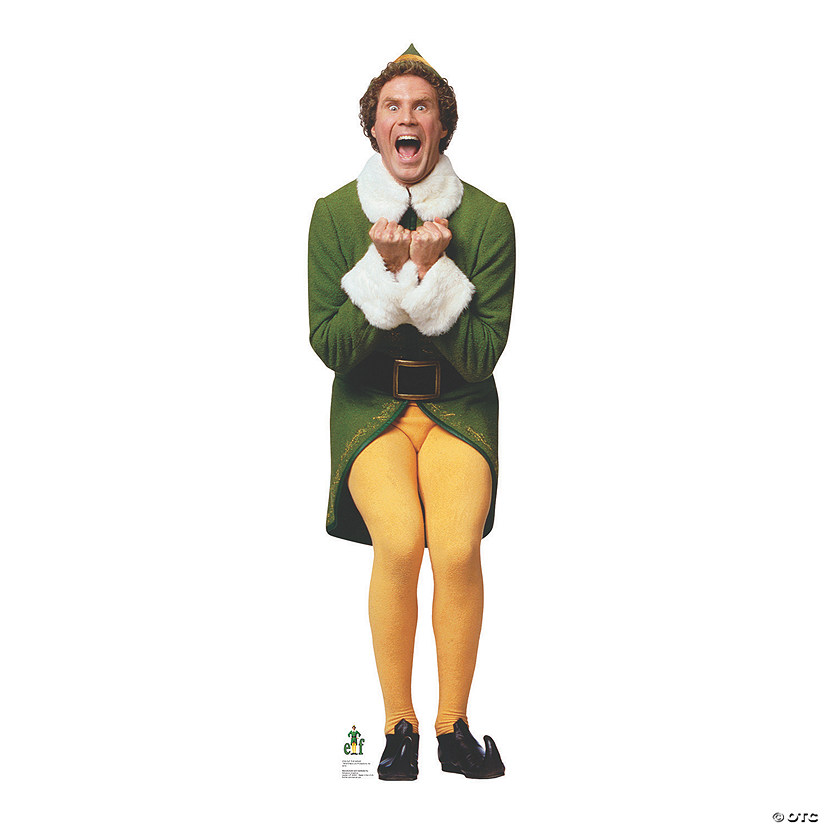 Elf Will Ferrell As Excited Buddy Elf Stand Up