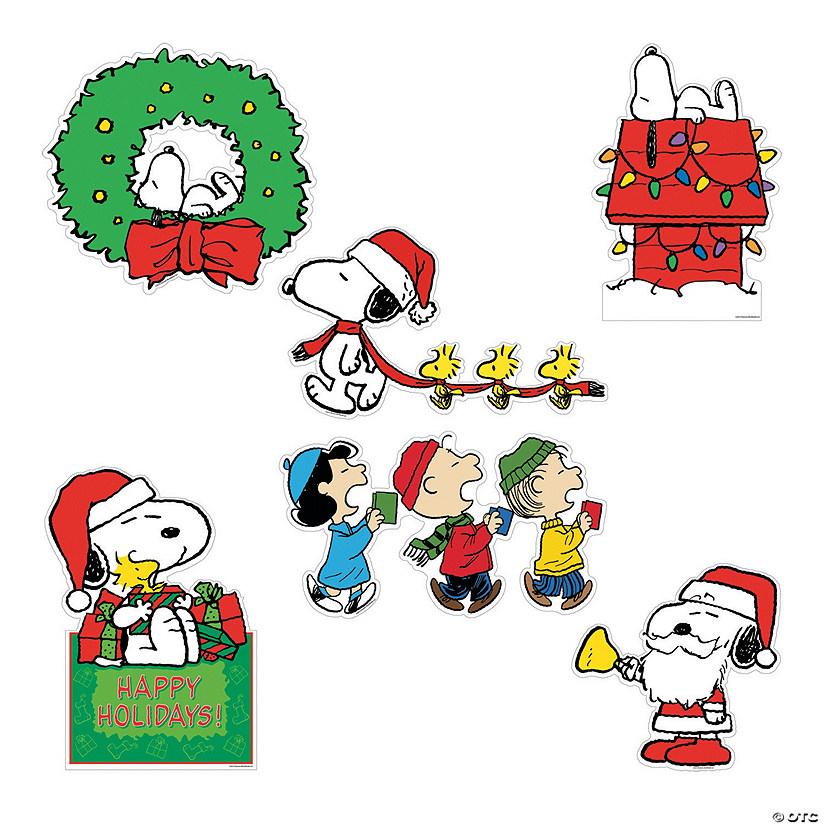 Peanuts Christmas Cutouts