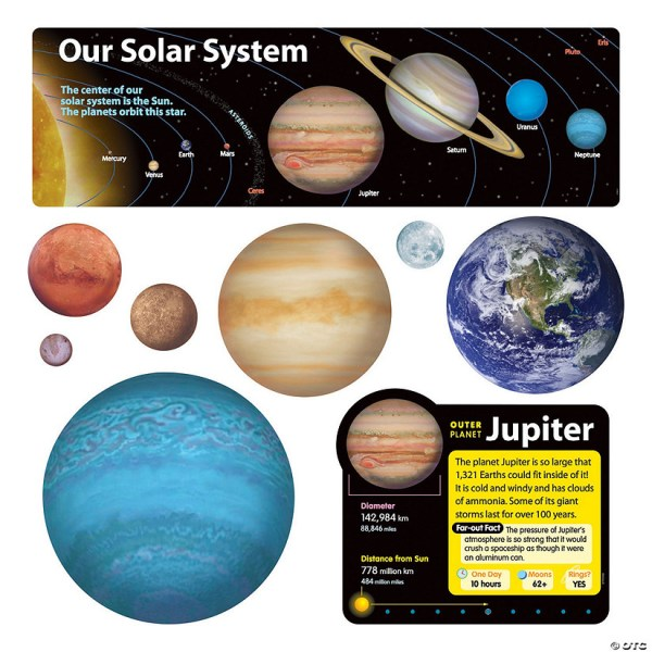 Solar System Bulletin Board Set | Oriental Trading