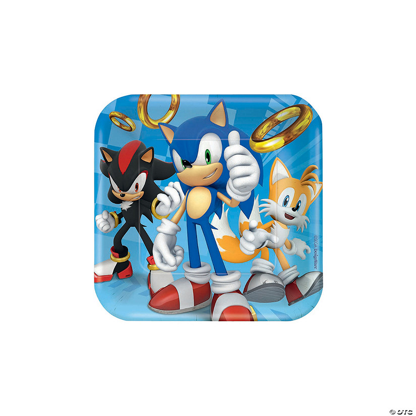 Paper Hedgehog Sonic