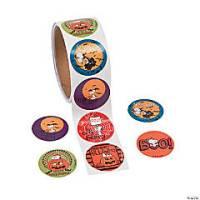 oriental trading halloween stickers